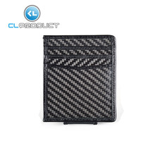 100% Real Carbon Fiber&Leather Credit Card &Business card Holder and Wallet
