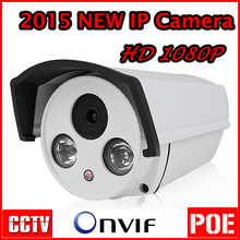 2017 Best sale IP Camera 2 MP HD 1080P CCTV Network Security Dome Camera Waterproof IP66 Support POE and Onvif Free shipping