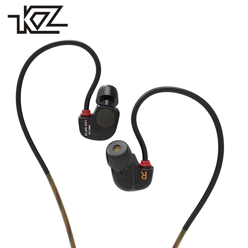 KZ Wired Hifi In-ear Earphones For Phone iPhone Headset Headphones With Microphone In Ear Bud Earbuds Kulakl K Audifono Earpiece