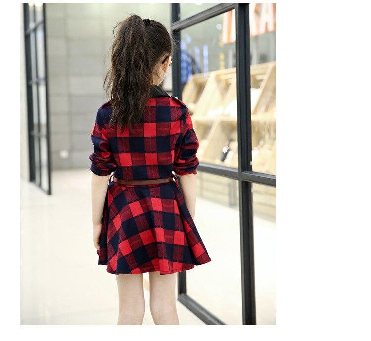 Plaid Dresses For Girls (17)