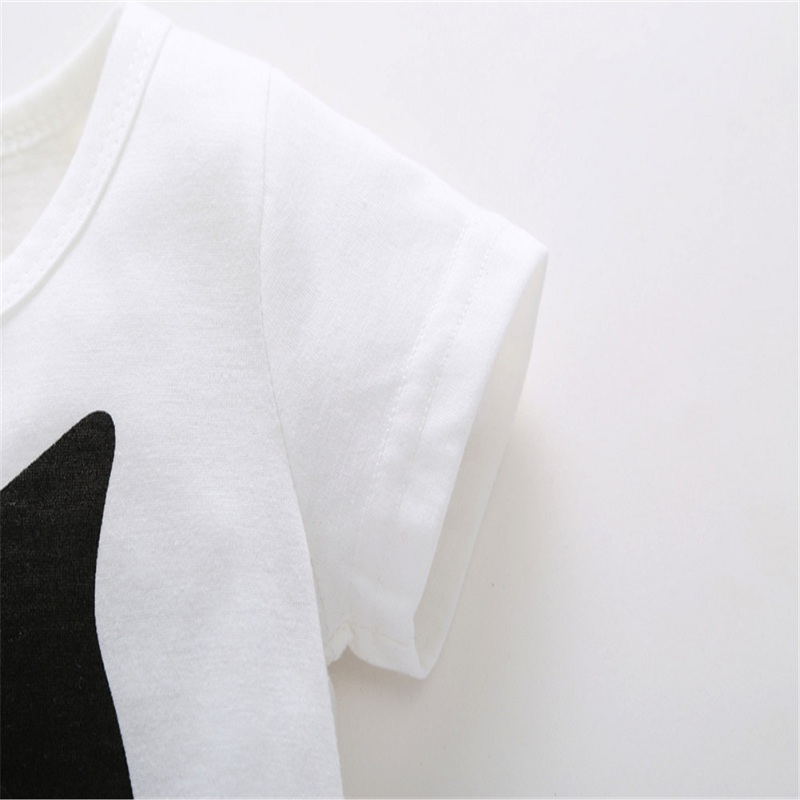 2017-0-6Y-Baby-Boys-Girls-T-shirt-Children-Letter-Birthday-Age-Printed-Black-White-Noir-Cotton-Blends-Summer-Shirts-Top-Tees-5