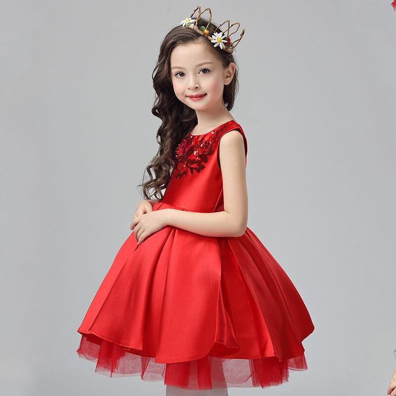 فستان احمر حلو كثير 2017