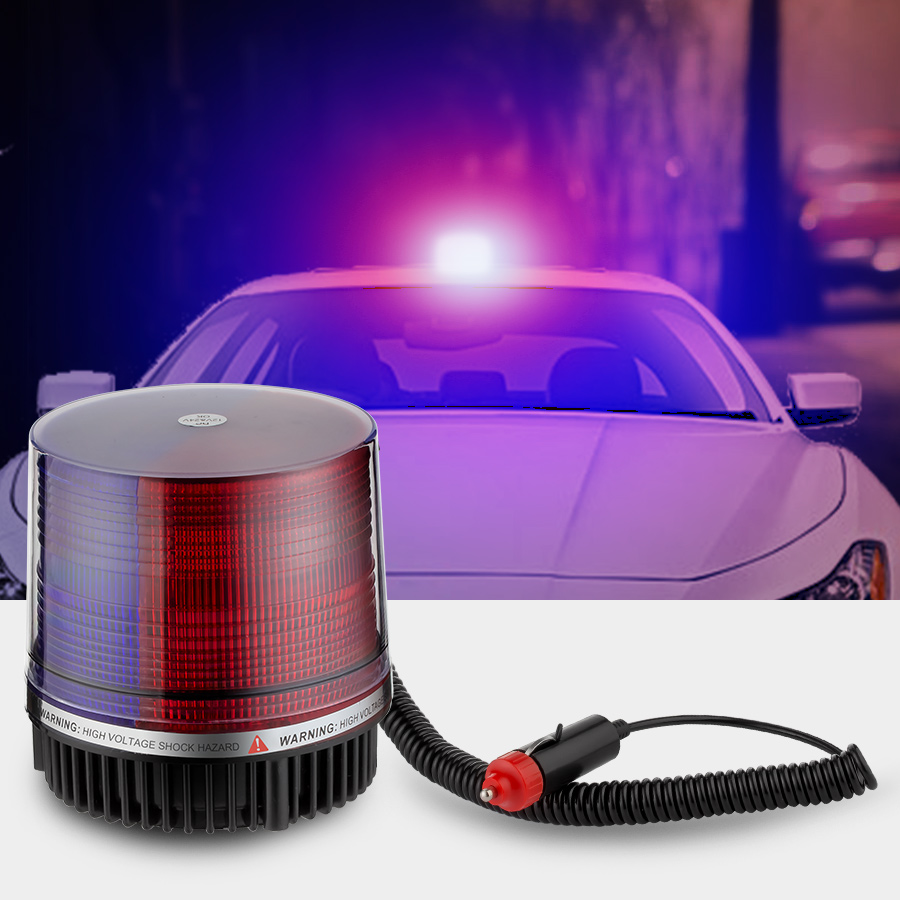 LED Signal Warning Light Flash Siren Car LED Lamp Highlight Waterproof Alarm Lamp For Car And Home Security Alarm System