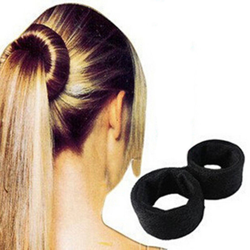 1PC DIY Fashion Women Girl French Dish Hair Styling Donut French Twist Magic Tool Bun Maker Hair Accessories mism girl french hair bun maker multifunctional hair accessories for women fine roller curls styling holder curlers headbands
