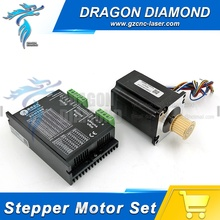 Leadshine 5.8A 573S15 Stepper Motor and 3MD580 Stepper Driver 3 phase for Co2 Laser Cutting & Engraving Machine