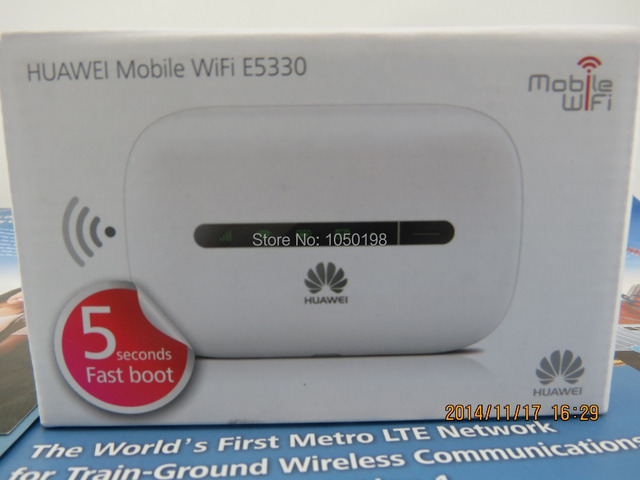 US $48 0 |Unlocked Huawei E5330 3G Wireless hotspot HSPA+ mobile Pocket  Wifi MIFI 21 6Mbps-in 3G/4G Routers from Computer & Office on  Aliexpress com |
