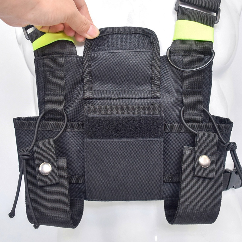 Outdoor Tactical Vest Radio Harness Chest Front Pack Pouch Holster Vest Rig bag for Walkie Talkie Tactical Headsets & Accessorie vacuum cleaner for sofa