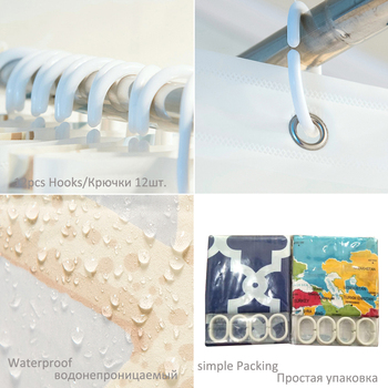 Duschvorhang Blumen | Nach Größe 3D Dusche Vorhänge Wände Bedeckt Mit Blumen Muster Bad Vorhang Wasserdichte Stoffe Bad Vorhänge Produkte