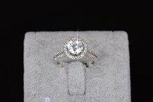 Engagement Jewelry 925 Female Wedding Finger Flower Rings