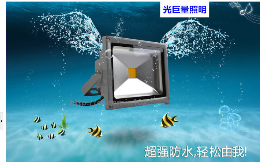 4pcs DHL shipping High Power LED Floodlight 70W toughened glass with High transmittance LED outdoor lighting Lamp