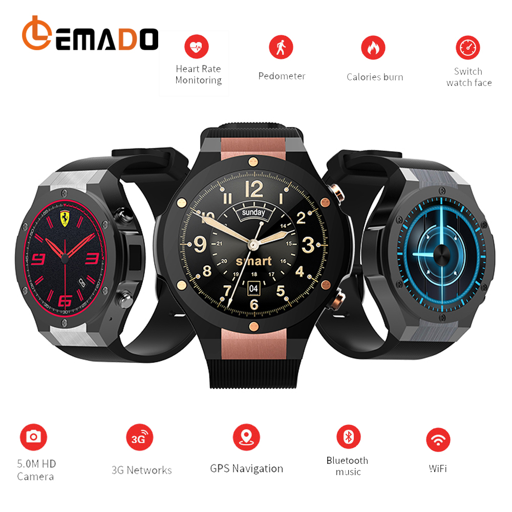 Lemado Smartwatch phone Android 5.1 OS GPS smart Watch with 1GB+16 GB GPS WIFI 5.0 Camera Fitness Tracker for IOS Android phone romi anku causes of delays and cost overrun in road construction project