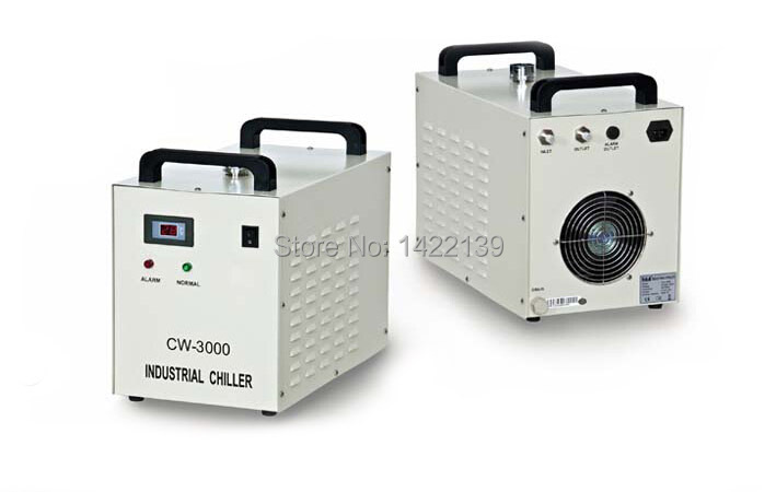 Industrial Water Chiller for CNC/ Laser Engraver Engraving Machines CW-3000 hot sell high quality cw3000 water chiller cooling laser tube for laser machine