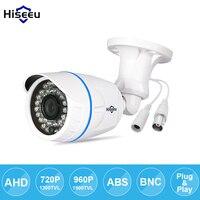 Hiseeu AHDM 720P 960P Metal Case AHD Analog High Definition Metal Camera AHD CCTV Camera Security