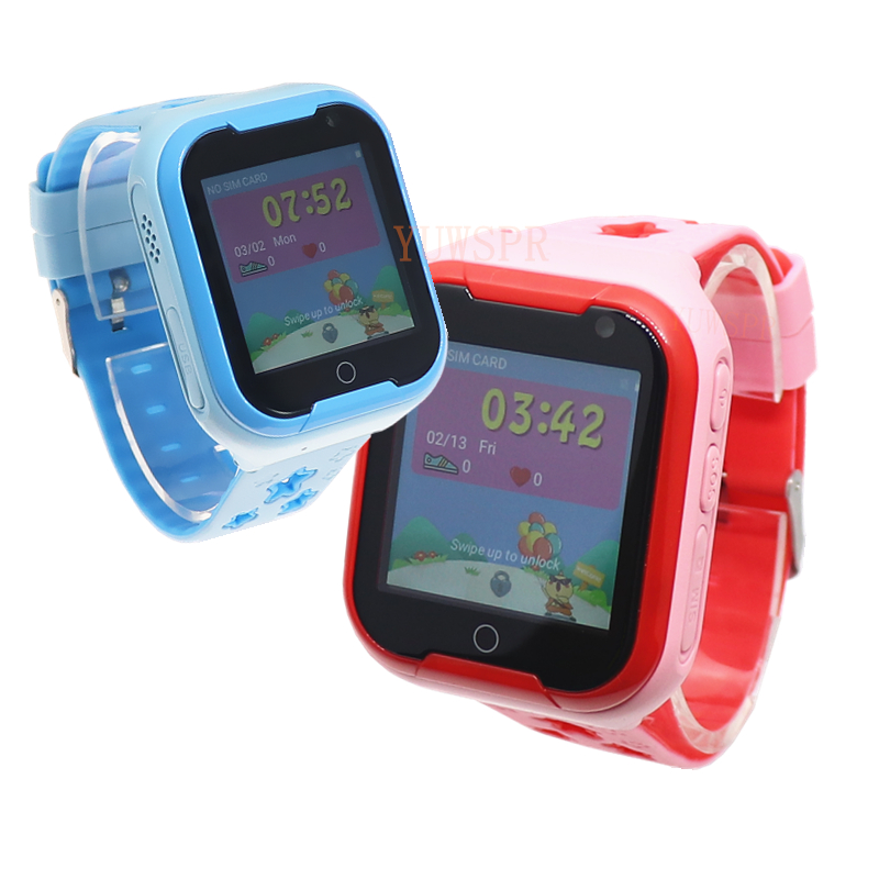Kids GPS Tracker 4G Smart watch M05 LBS WIFI location SOS call Android 4.2 Pedometer Camera Children Smart watches M05 1PCS 15