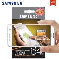 Оригинальный SAMSUNG Micro SD карты памяти 128 ГБ EVO + плюс 256 ГБ 64 ГБ 32 ГБ 16 ГБ Class10 TFCard C10 SDHC/SDXC UHS-I4K для мобильного телефона