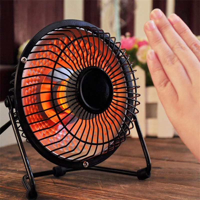 New Portable Mini Desktop Electric Hand Feet Heater Warmer Bedroom Garden  Outdoorfor Camping Heating Warmer In Electric Heaters From Home Appliances  On ...