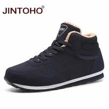 JINTOHO Big Size Unisex Winter Snow Shoes Brand Men Winter Boots Warm