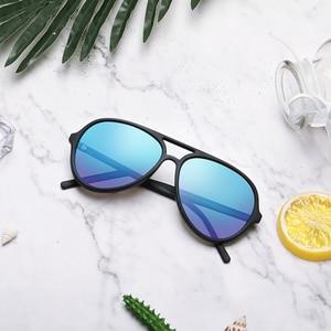 Image 5 - TS STR015 0105 Ice Blue TAC Polarized Sunglasses UV400 TAC Lens Men Women Outdoor Sports Cycling Driving Sunglasses