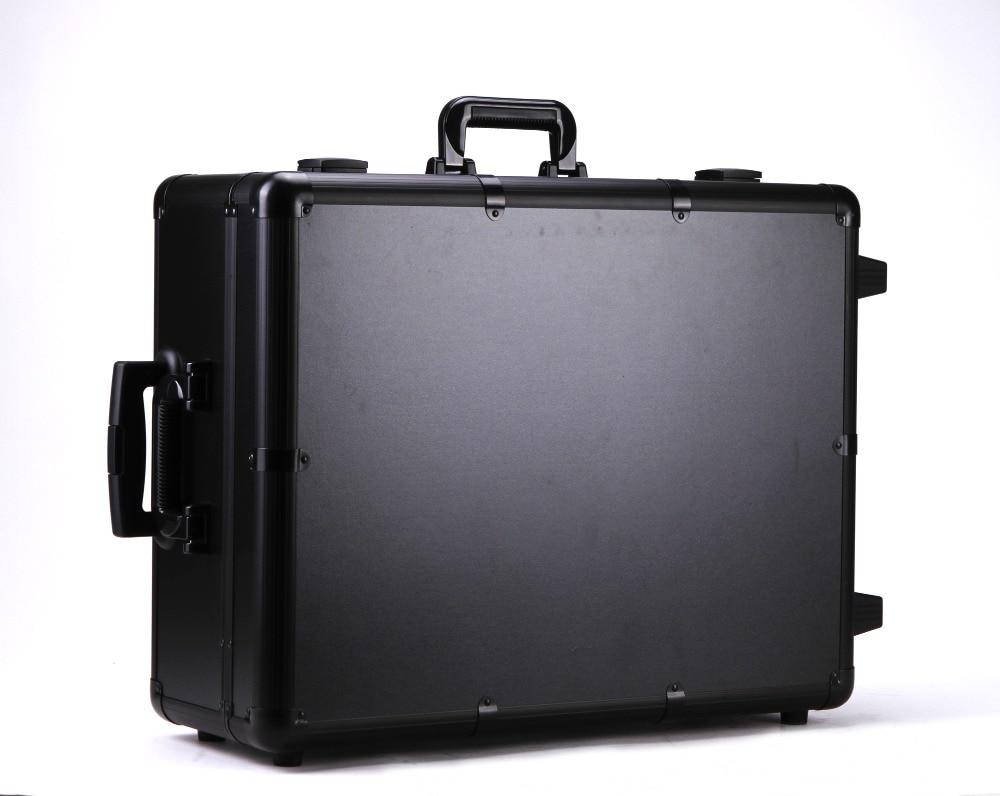 Rio Pink Vanity Makeup Case Box With Lightirror Makeup