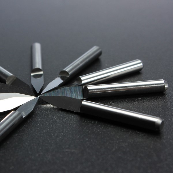 Best Price 10pcs Carbide PCB Board 0.3mm 30 Degree Engraving Bits CNC Router Tool V-shape