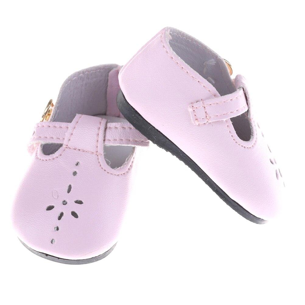 9fc2e11d826fd Couleur rose. Taille  Fit pour 18 pouces American Girl et 43 cm bébé poupée.  Forfait comprend  1 paire de chaussures de poupée