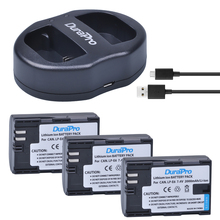 DuraPro 3 Pack LP-E6 LP-E6N LP E6 LPE6 2000mAh Camera Li-ion Battery + USB Dual Charger For Canon 5D Mark II III 7D 60D EOS 6D