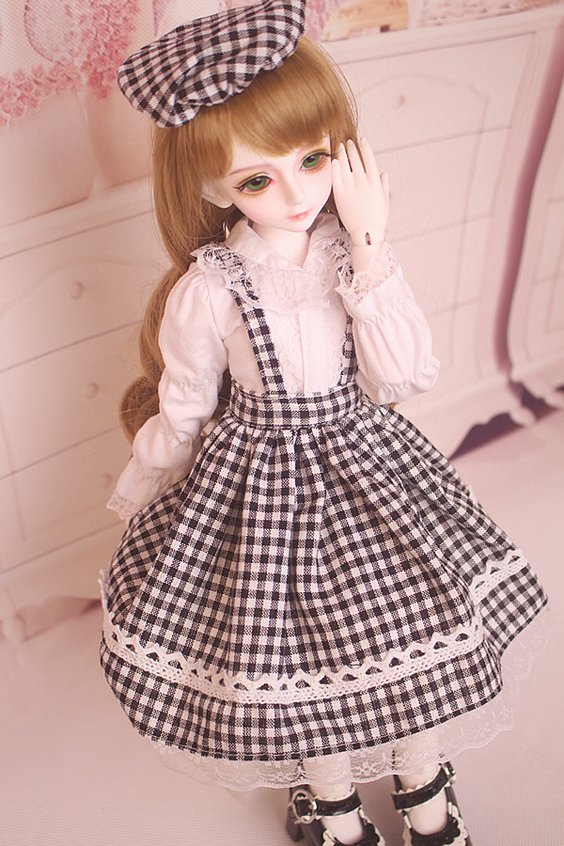 New Fashion Style 1/3 1/4 1/6 BJD Doll Dress SD Doll Clothes Lovely DIY BJD Dress For Girls кукла bjd dc doll chateau 6 bjd sd doll zora soom volks