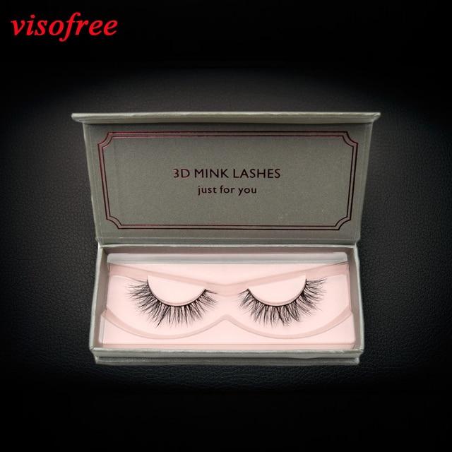 23d9ed30a2c visofree Medium Volume Mink Lashes Criss-cross Pattern Sterilized Mink Fur  Cruelty free Luxurious Mink