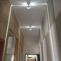 Cree led Ventana 10W lámpara led al aire libre para balcón pórtico LED de pared exterior luz al aire libre led alféizar ventana lámpara marco de puerta línea de pared