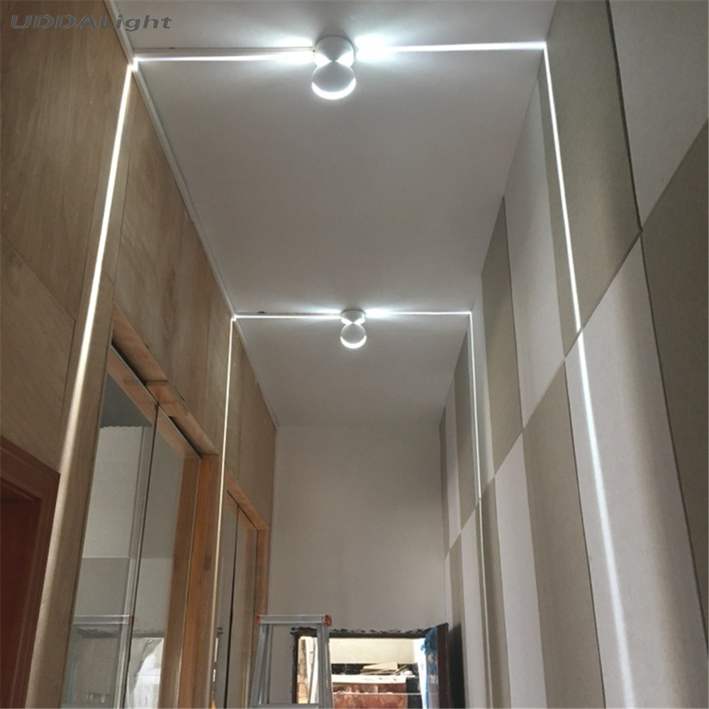 Outdoor Waterproof IP67 LED Wall Lamp, Surface Mounted Led Wall Sconce Liner Aisle Bedroom Decorative Lighting Window Wall Light