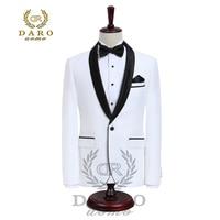 DARO Luxus Herren Anzüge Jacke Hosen Formale Kleid Men Suit Set Hochzeit Anzüge Bräutigam Smoking (Jacke + Pants)