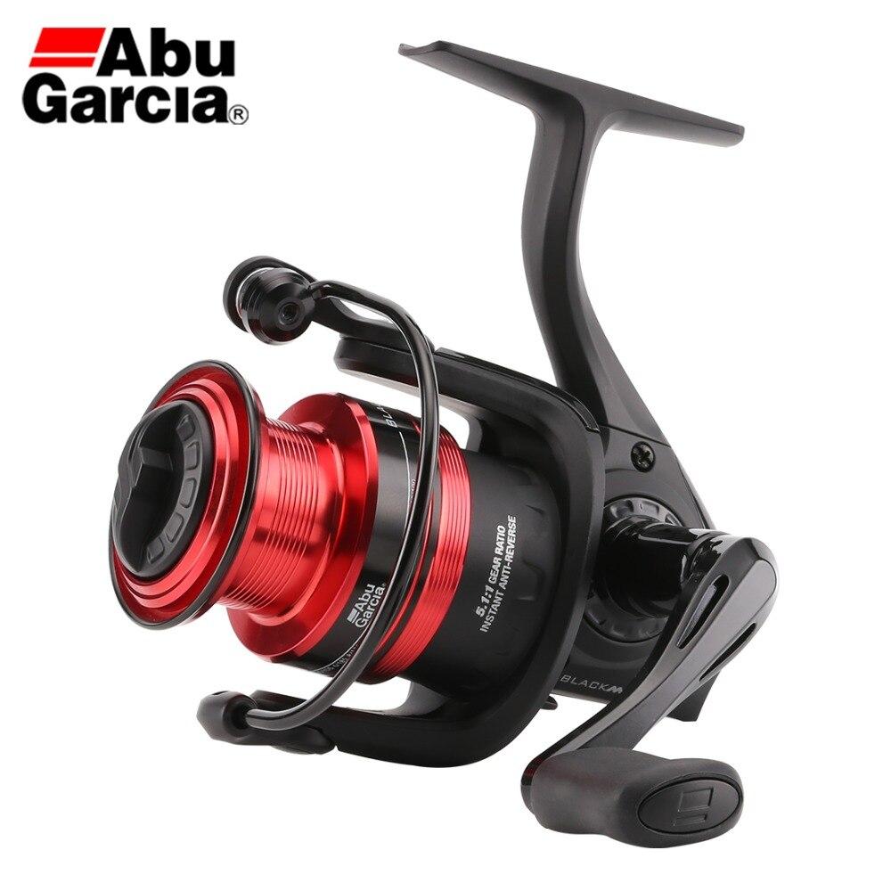 New Original ABU GARCIA BLACK MAX Spinning Fishing Reel BMAXSP5 60 500 6000 3 1BB graphite