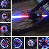 New Cycling Lights 64 LED Waterproof MTB Road Bike Front Rear Spoke Wheel Decoration Lamp Safety