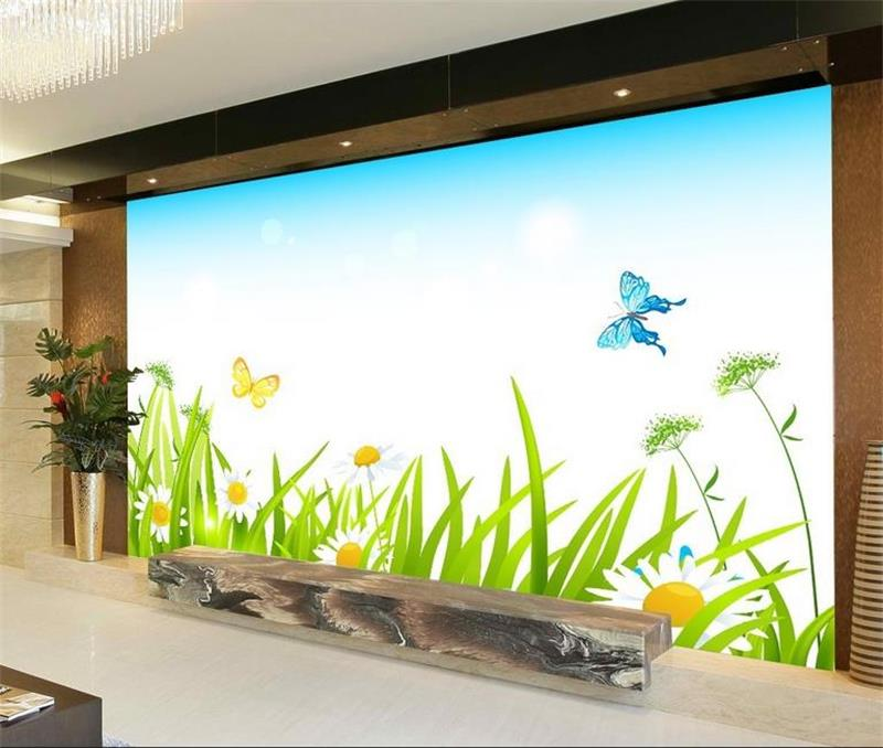 Compare prices on spring mural online shopping buy low for 3d wallpaper for baby room