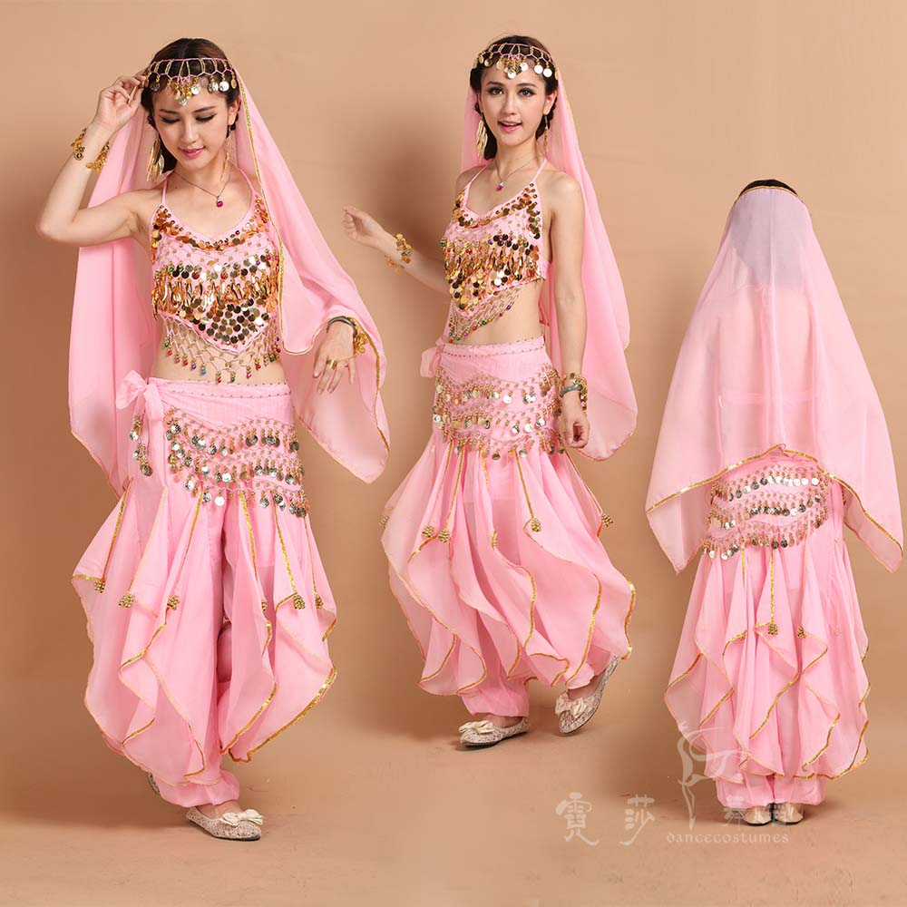 Hot ! 2017 Girls Belly Dance Costume Adult Bollywood Dance Costumes Bellydancer Women Indian Clothing Dresses Women Bellydance