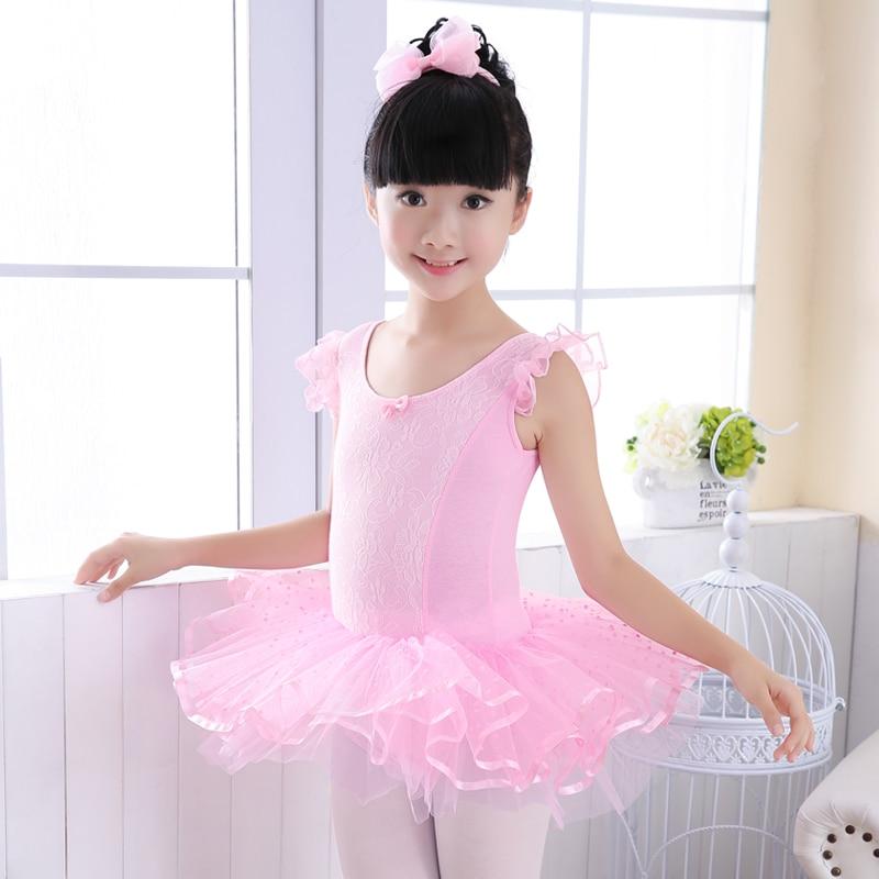 fd7c804e0c68 Kids Fancy Party Tulle Princess Tutu Dress Girls Ballerina Dance ...