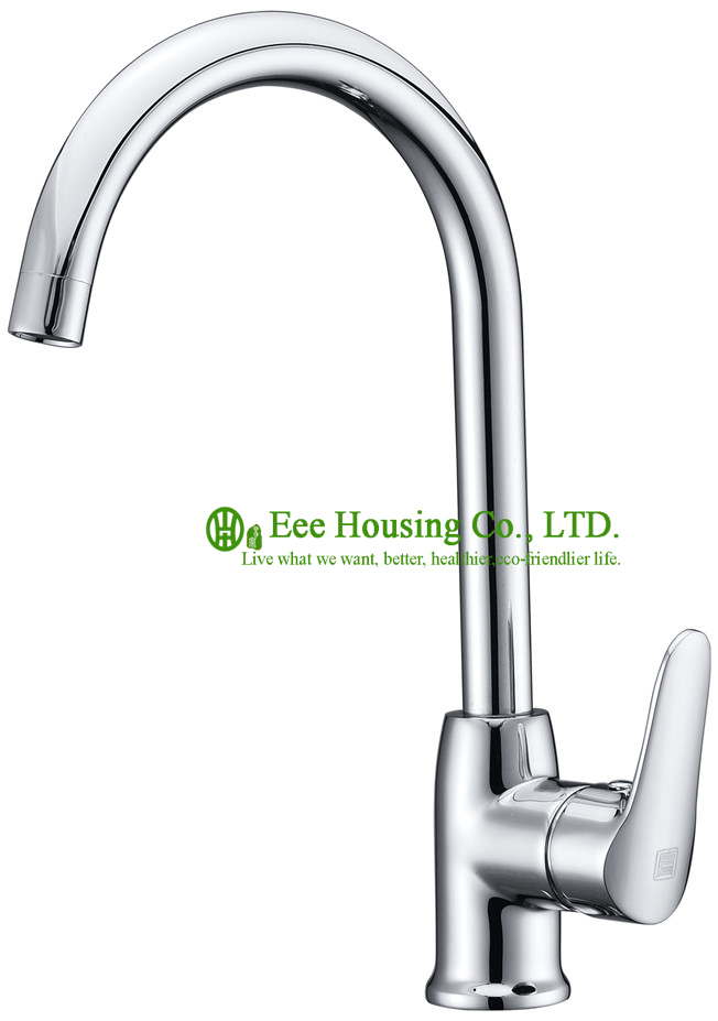 Free Shipping Brass Single-hole Sink Mixer,kitchen Faucet Chrome Finished,kitchen Accessories