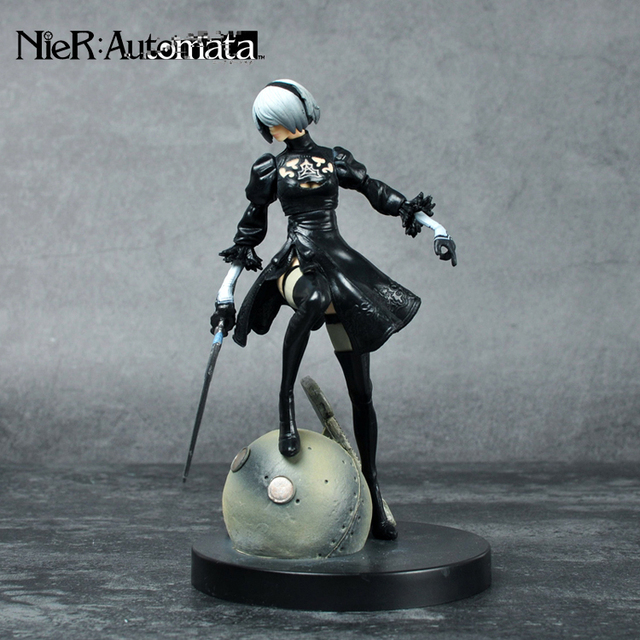 PS4 Game anime figure NieR Automata YoRHa No. 2 Type B 2B Cartoon Toy Action Figure Model 3