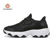 SALAMAN Womens Outdoor Hiking Trekking Shoes Sneakers For Women Sport Climbing Mountain Tracking Tourism Sneaker Woman