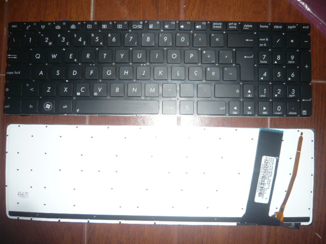 New keyboard for ASUS N56 U500 N750 N550J N56V N76 Q550 R500 Thailand/PORTUGUESE/RUSSIAN/SPANISH/SWISS/TURKISH/US layout nokia n76 днепропетровске б у