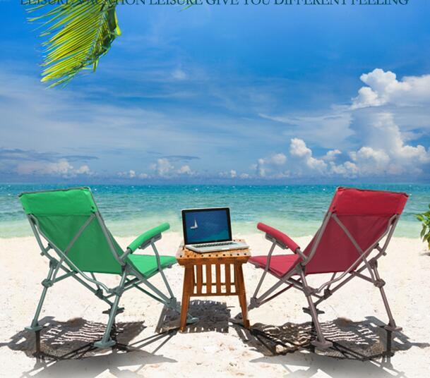 Chaise de pêche portable Ultra légère chaise de camping de loisirs en plein air dossier chaise pliante en toile pour voyager