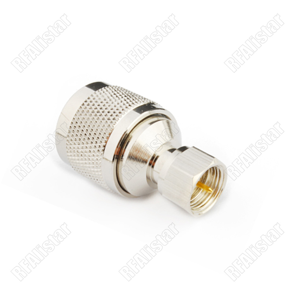 BNC Male Plug to SMB Male Plug 50oHm Straight Adapter RF Connector Converter USA
