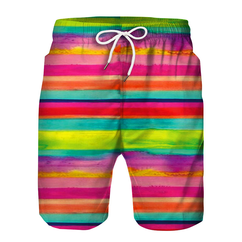 PRAGMATY T-Ik Tok Teen Beach Pants Boys Girls Swim Trunks Half Pants Quick Drying