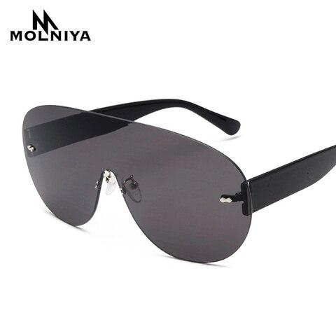 Oversized Shield Visor Sunglasses Women Large Size Sunglasses Men Transparent Frame Vintage Big Windproof Retro Top Hood Glasses Pakistan