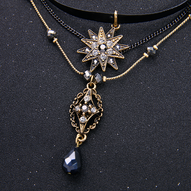 Edinstvena oblikovalna znamka nakit kabrioletne imitacije usnjene - Modni nakit - Fotografija 6