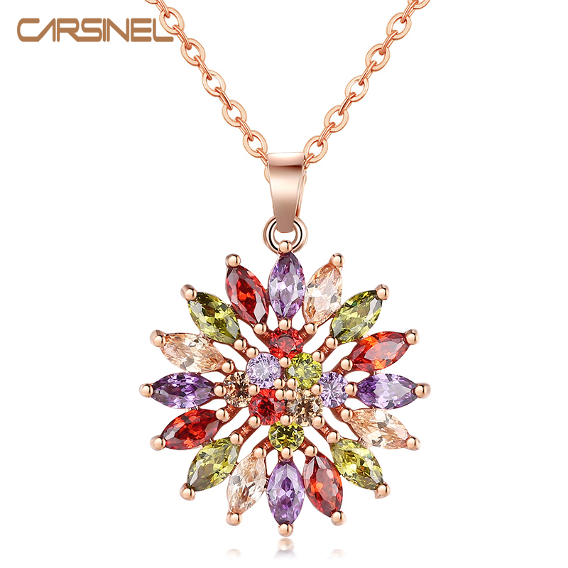 CARSINEL Rose Gold Color...
