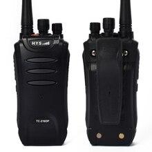 2 pieces/lot HYS TC-216DP long range walkie talkie Radio UHF 400-470MHz DPMR 2W Digital Dual Band Two Way Radio