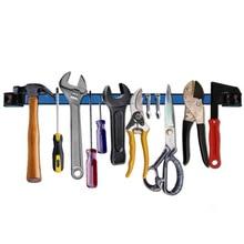 Высокое качество, крепкий магнитный держатель для инструментов, Настенная полосная полка, плоскогубцы-ножницы, ножевая стойка для хранения инструментов, аксессуары