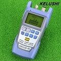 KELUSHI All-IN-ONE FTTH Волоконно-Оптический Измеритель Мощности от-70 До + 10dbm 10 МВт 10 км Волокна-оптический Кабель Тестер Визуальный Локатор Неисправностей