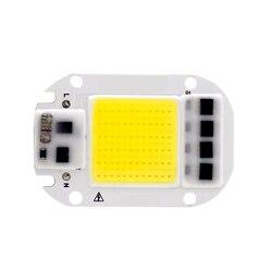 Светодиодный чип COB 50 Вт 30 Вт 20 Вт 110 В 220 В Smart IC без необходимости ввода драйвера люменов чип для DIY Светодиодный прожектор Прожектор световые...